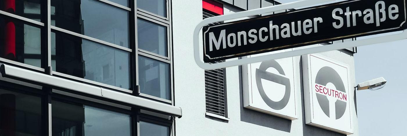 Secutron – Fachhandelspartner für Sicherheitstechnik in Düsseldorf